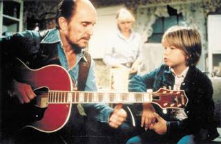 Mac teaching Sonny the guitar Tender Mercies 1983 movieloversreviews.blogspot.com