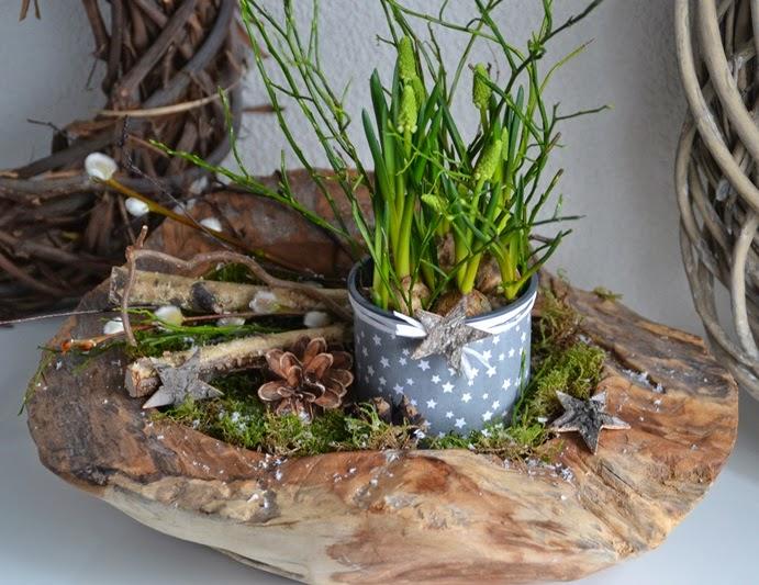 Kreativ mit liebe fr hlingshafte winterdeko und pimp up for Wohnung dekorieren winter