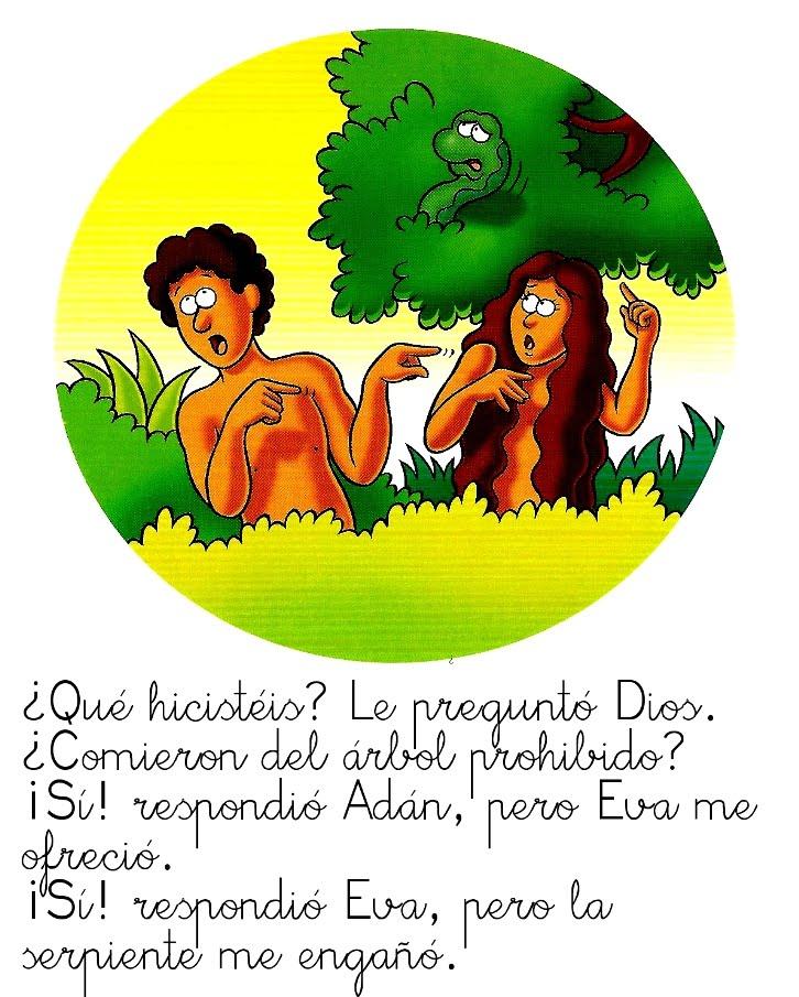 Historia de Adán y Eva