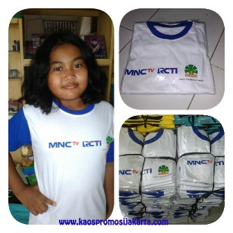 T-shirt KId MNC'tv RCTI