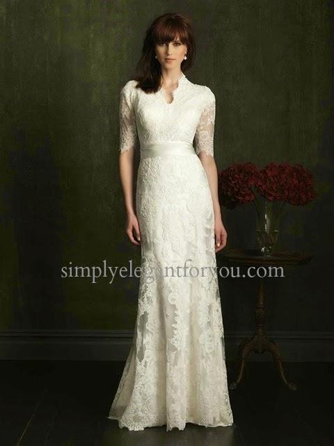 Simply elegant finding a modest wedding dress can be for Simply elegant wedding dresses
