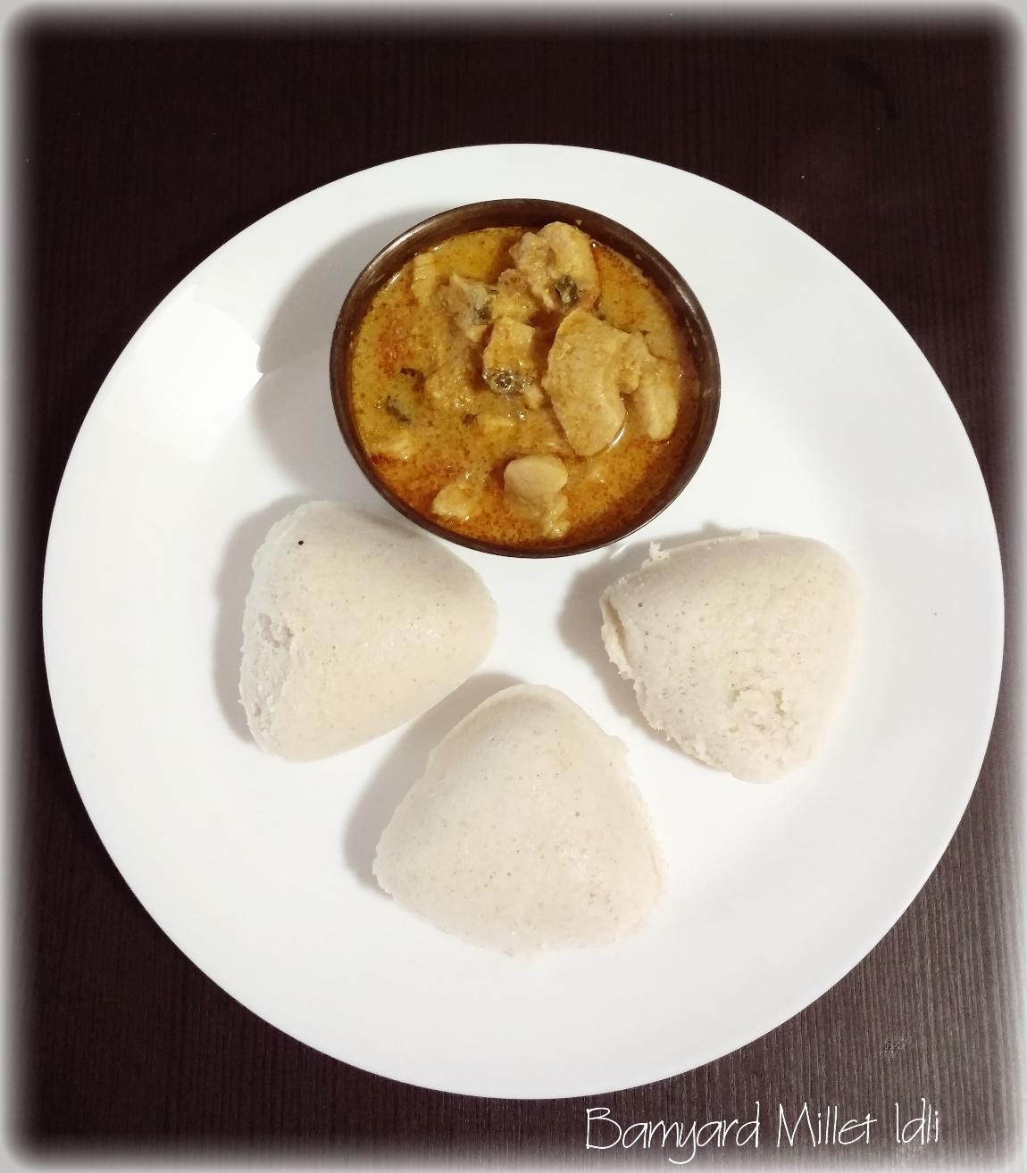 cookbabycook: Barnyard Millet Idli