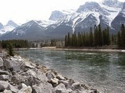 Bow River, Canmore, Alberta