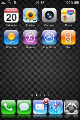 Apple iPhone Desktop Screenhot
