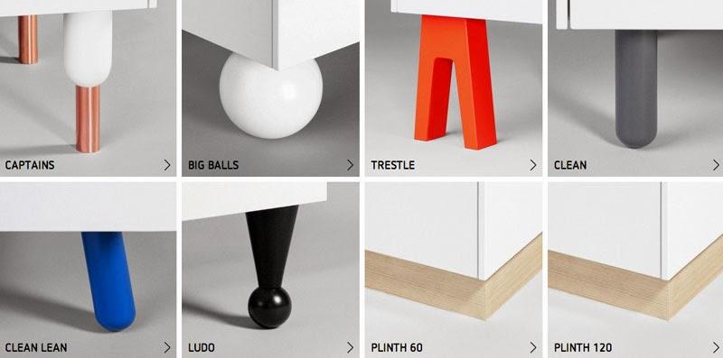 Customiza los muebles de ikea con superfront maria victrix - Patas para muebles ikea ...