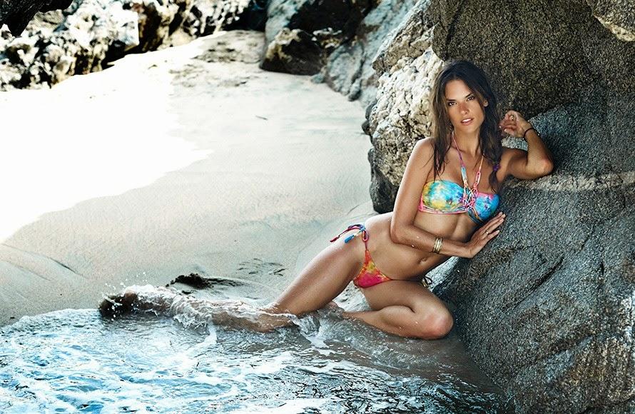 A top Alessandra Ambrosio ensina os segredos para combinar moda praia