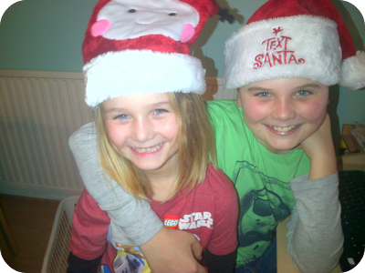 Jake and lewis say happy xmas