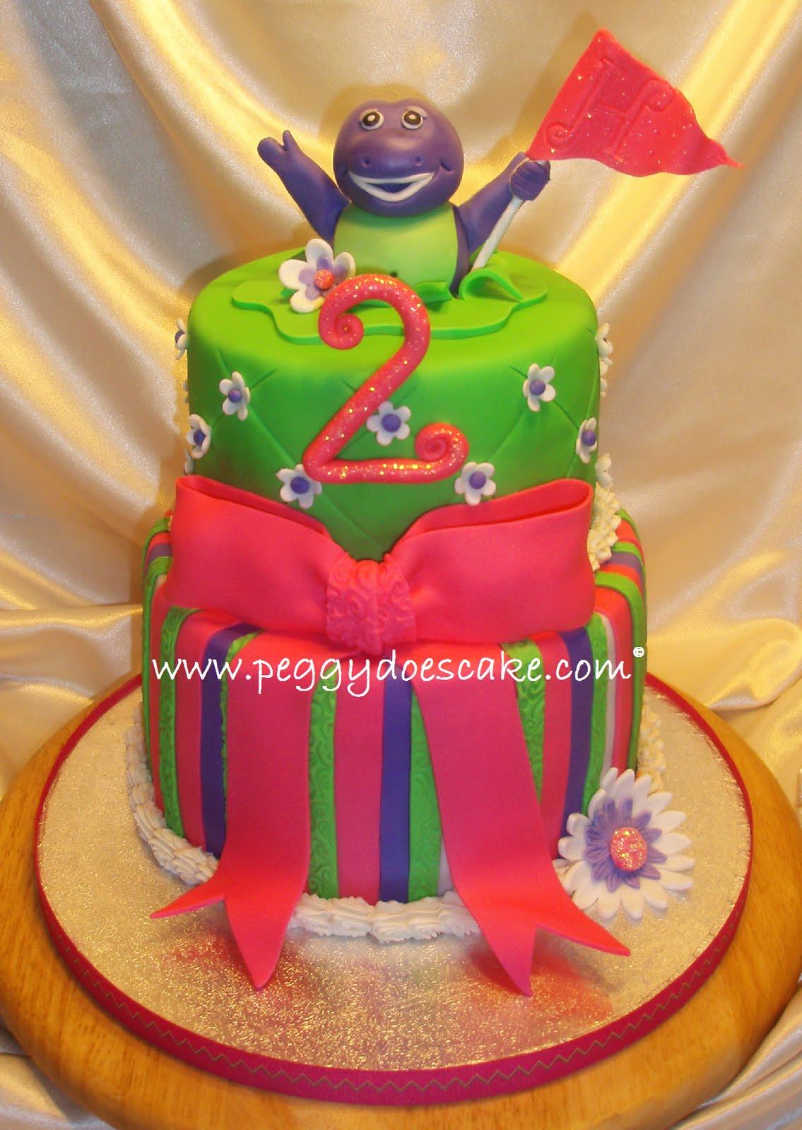 barney cake - photo #21