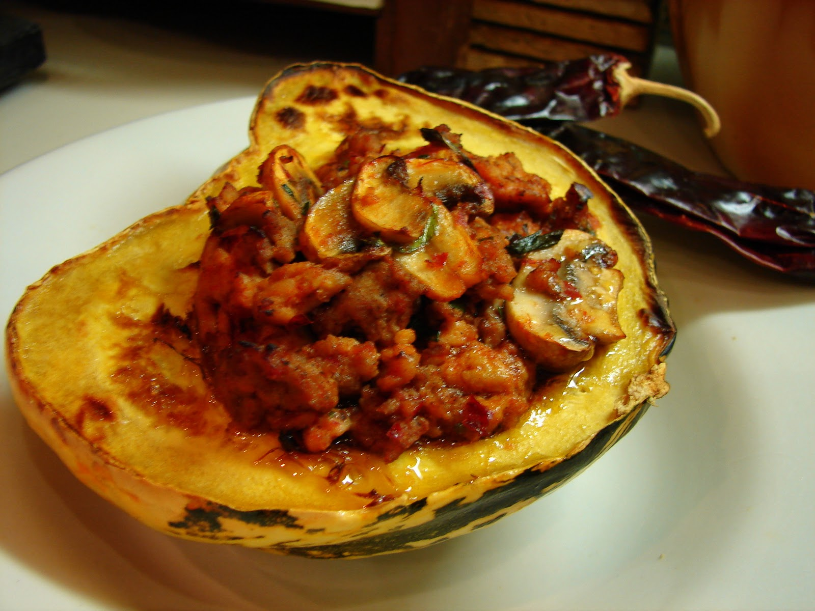 squash are a colorful winter squash sometimes labeled acorn squash