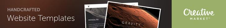Creative Market Website Templates