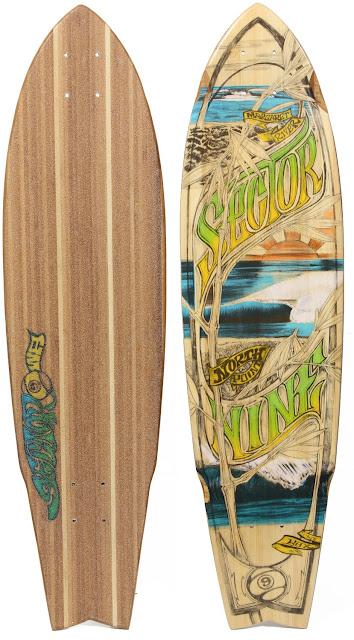 Bamboo Longboard Deck9