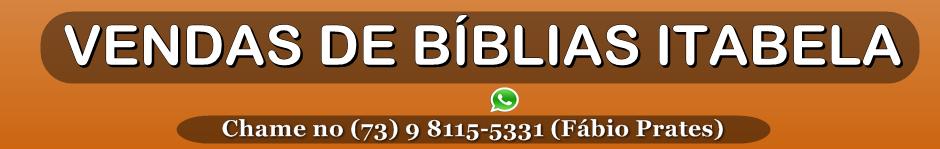 Vendas de Bíblias Itabela