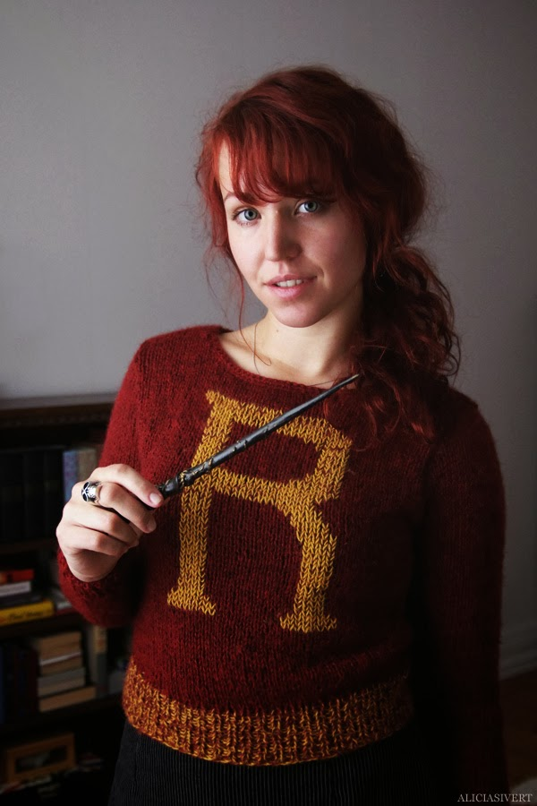 Knitting Pattern For Weasley Sweater : Alicia Sivert: Weasley is our king!