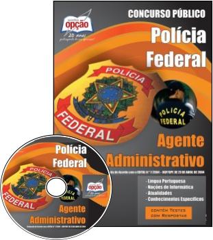 Apostila Concurso Polícia Federal Agente Administrativo (PF) 2013