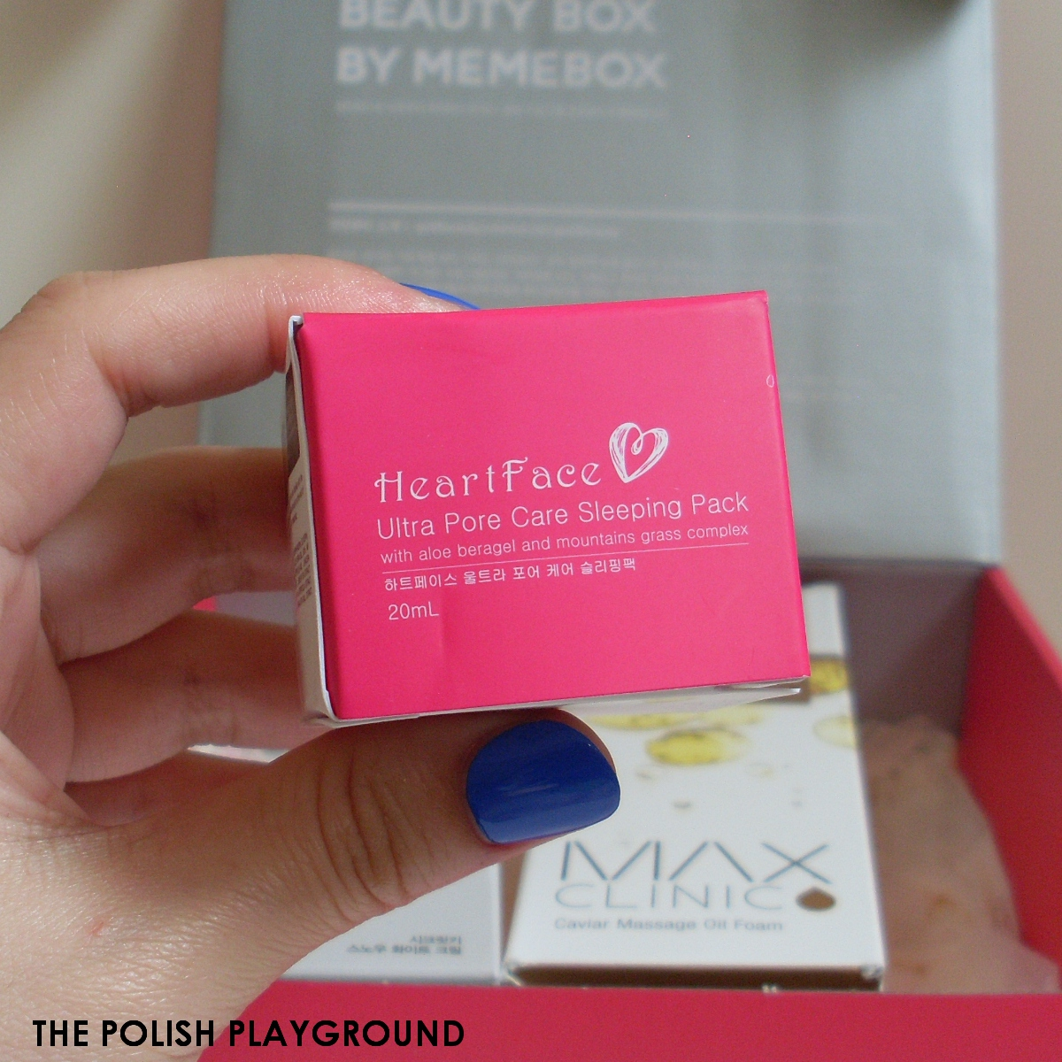Memebox #8 Unboxing - Heart Face Ultra Pore Care Sleeping Pack