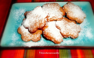 biscotti integrali con miele e profumati all'arancia