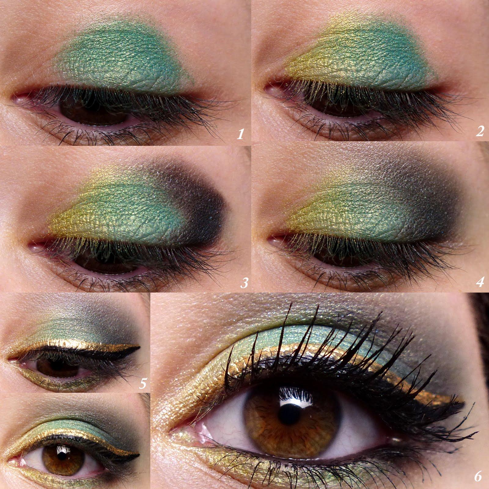 du vert sur les yeux c 39 est possible maquillage de f te 3 joy and makeup. Black Bedroom Furniture Sets. Home Design Ideas
