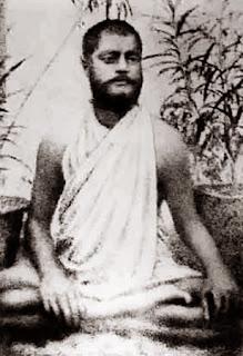 Swami Vivekananda, sitting