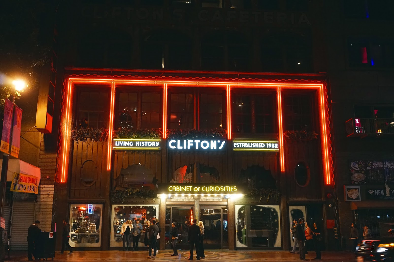 Clifton's at Night!