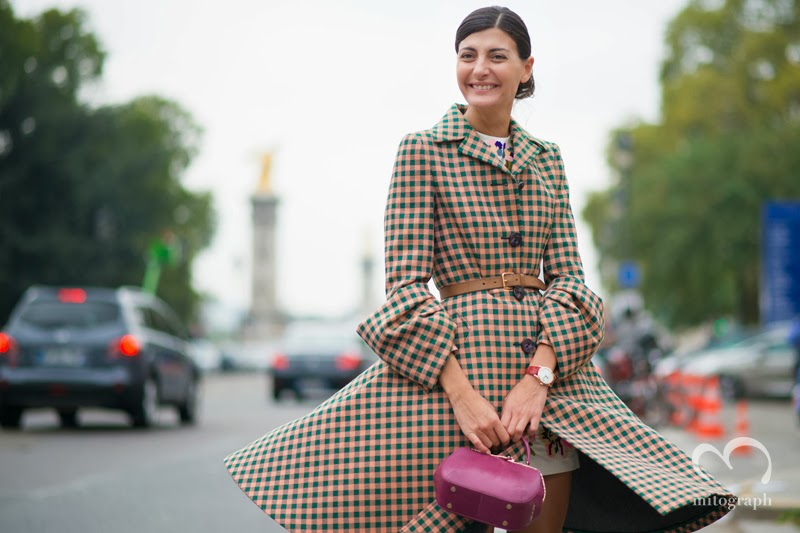 Stylist Giovanna Battaglia After Chanel 2014 Spring Summer Show