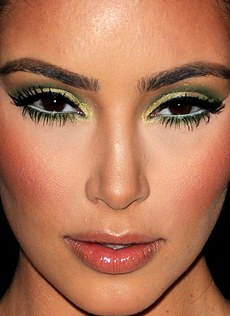 Kim Kardashian close up