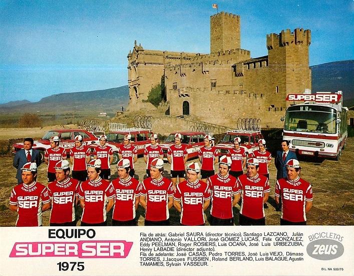EQUIPO SUPER SER 1975