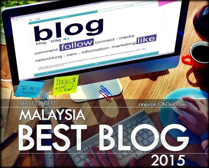 Contest Malaysia Best Blog 2015 Tidak Adil