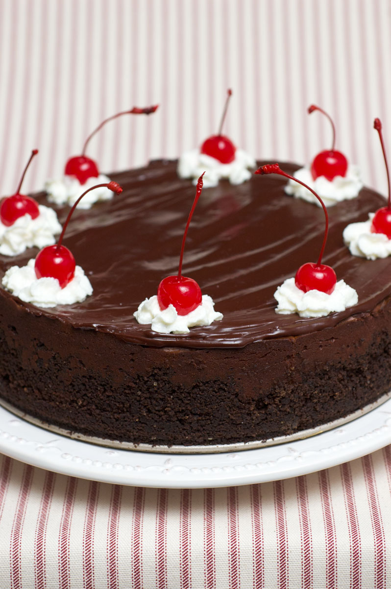 """My little niece requested a """"chocolate cheesecake with whipped cream ..."""