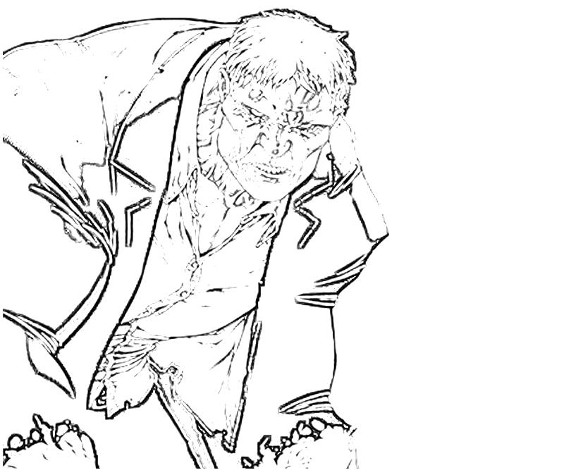 solomon grundy coloring pages - photo#6