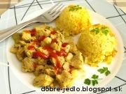 Morčacie mäso s kalerábom - recept