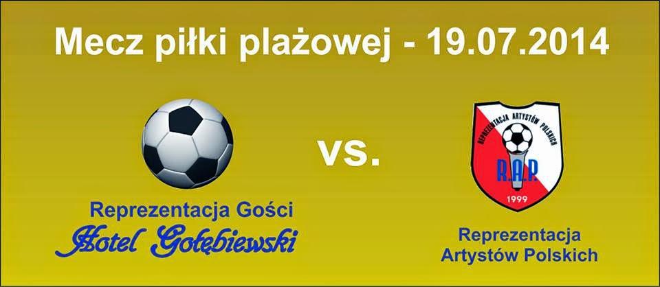 Mecz piłki plażowej w Hotelu Gołębiewski w Mikołajkach