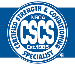 certified strength & conditioning coach