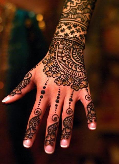 Hand Wrist mehndi Designs 2012