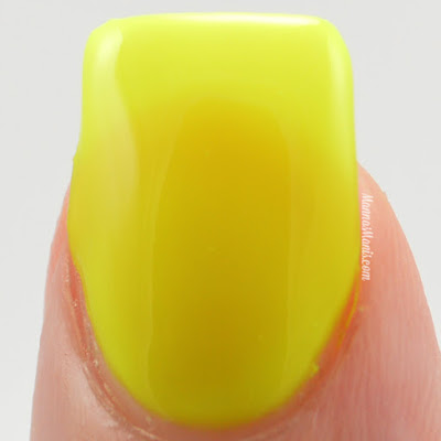 Top Shelf Lacquer  Yellow Flirtini swatches