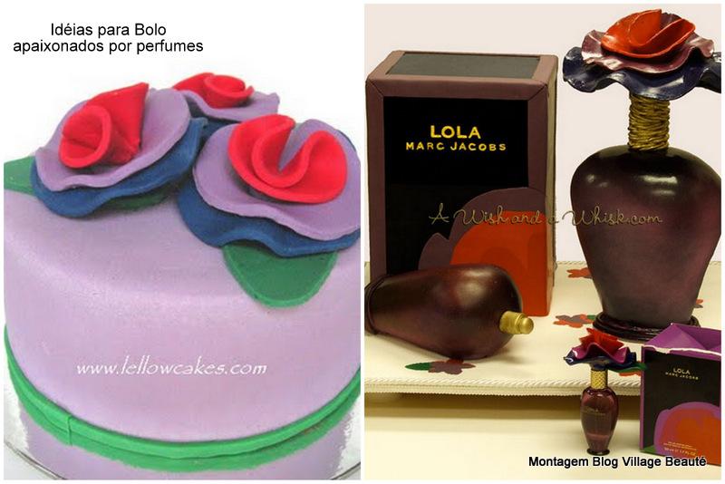 Bolo formato perfume Lola Marc Jacobs