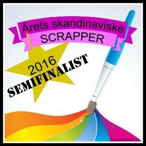 Semifinalist - Årets scandinaviske scrapper
