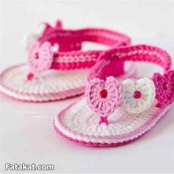 tanto a sus hijas y quieren también verlas vestidas con zapatos de lo más bonitos.Si a usted le gusta tejer aquí tiene a continuación varios modelos