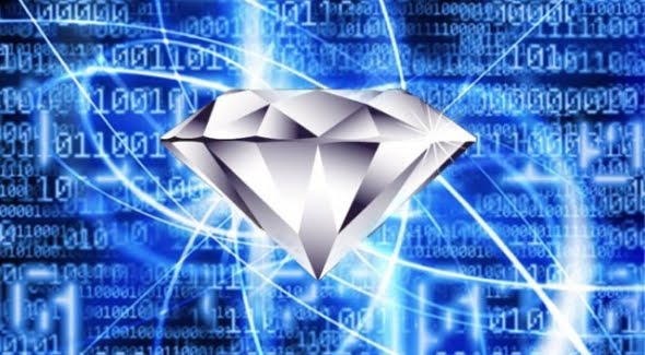 Diamond Quantum Computing: Supercomputer in a single diamond
