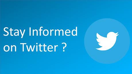 Twitterをフォローして最新情報を確認しよう