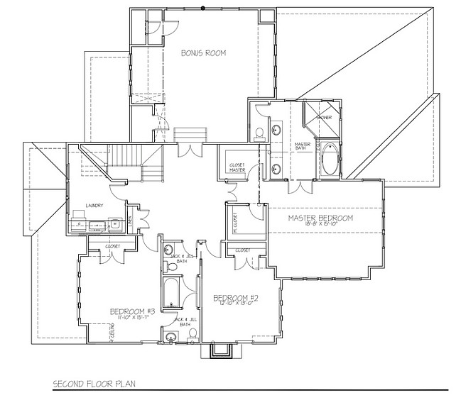 Home change home blog de decora o agosto 2015 for 4 bedroom floor plans with bonus room