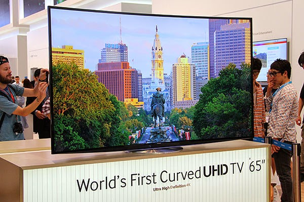 "Samsung Curved 65"" UHD TV"