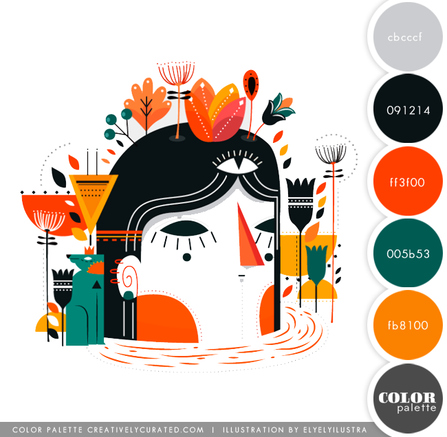 Color Palette 66 : ElyElyIlustra | Shared on CreativelyCurated.com