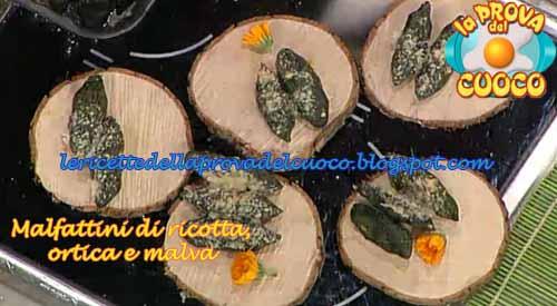 Malfattini di ricotta ortica e malva ricetta da la prova for Cucinare ortica