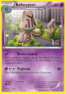 Beheeyem Next Destinies Pokemon Card