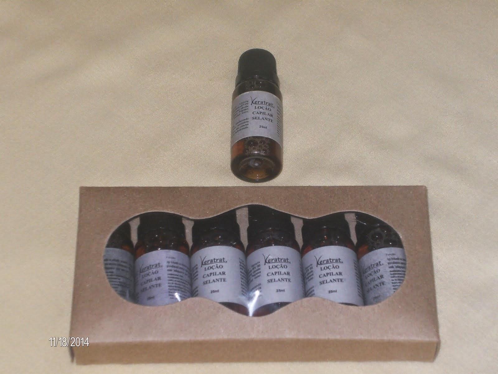 Loção Selante Hidrolisada caixa com 6 tubetes de 25 ml - Preço R$ 50,00