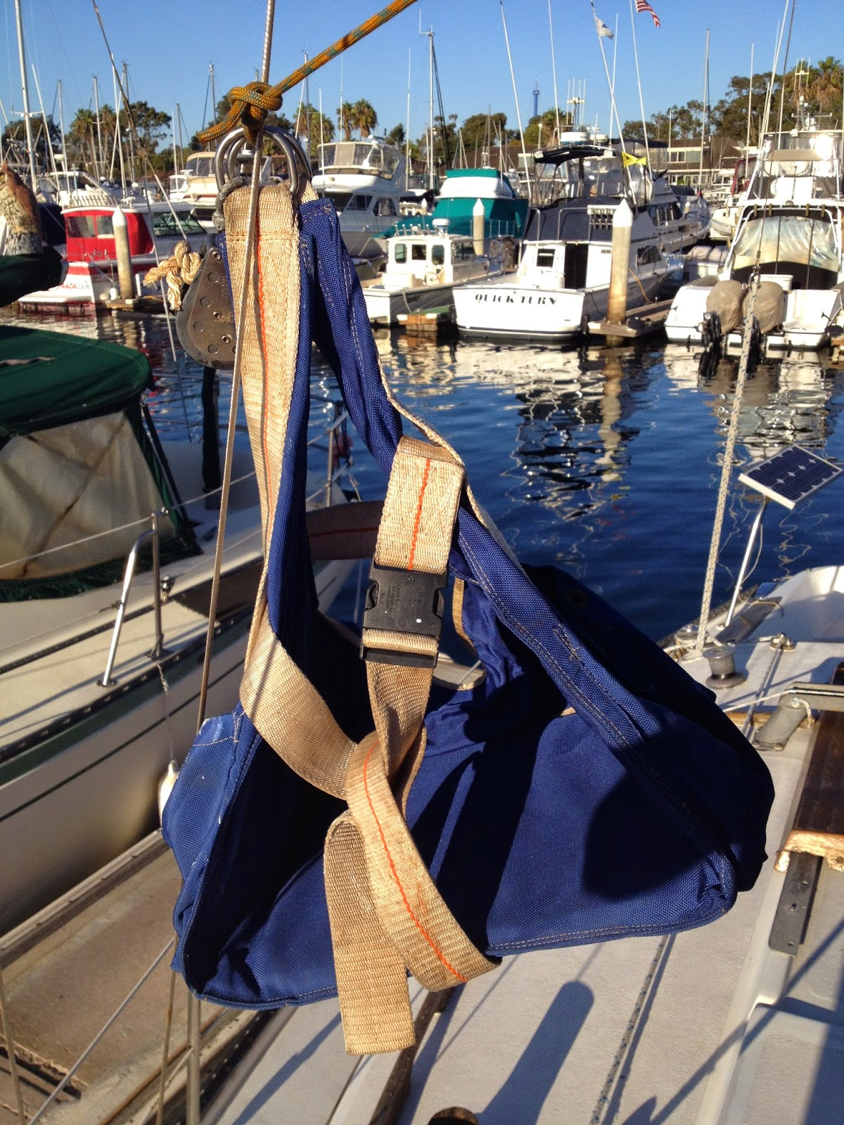 bosun chair for climbing mast