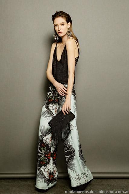 Palazzos moda verano 2015 Tucci. Ropa de mujer de moda 2015.