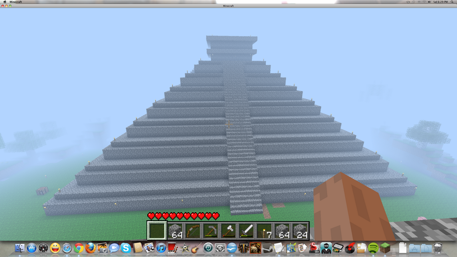 So i ve been playing a ton of minecraft lately i would love to try the