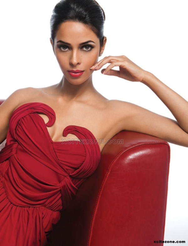 Mallika Sherawat in red dress - (4) - Mallika Sherawat Hot unseen photo Gallery 