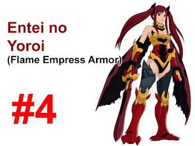 Flame Empress Armor Erza Scarlet